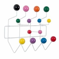 Hang It All - White with Multi-Coloured Balls