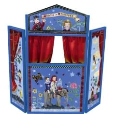 Children's Wooden Standing Puppet Theatre By Nathalie Lete, Adventures