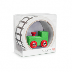 My First Train Track Adhesive Tape with Toy Train