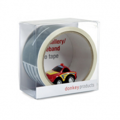 My First Highway Adhesive Tape with Toy Car