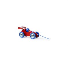 Pull Along Racing Car - Red