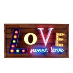 Love Sweet Love LED Neon Sign