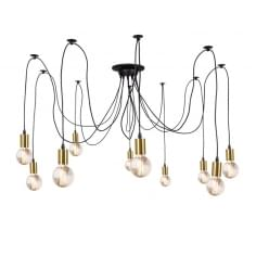 Spider Hanging Pendant Lights - Gold