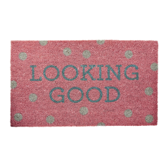 Looking Good Door Mat - Pink