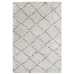 Royal Nomadic Shaggy Floor Rug, Pure Polypropylene, Cream Diamond