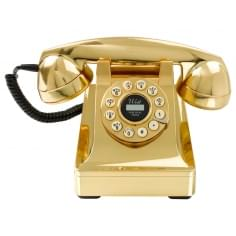 Series 302 Style Telephone, Gold