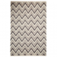 Cult Living Aztec Pattern Alpha Rug, 100% Wool, Natural