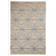 Cult Living Geometric Alpha Floor Rug, 100% Wool, Natural
