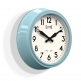 "Newgate - The 50's ""Electric"" Clock - Blue"
