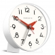 Newgate The Bubble II Clock - Silicone Pebble White