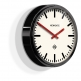Newgate The Metropolitan Wall Clock - Black