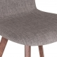 Cult Living Hudson Upholstered Dining Chair - Cool Grey