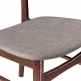 Cult Living Modernist Upholstered Dining Chair - Cool Grey