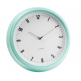 Karlsson Retro Station Wall Clock - Peppermint