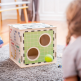 Donkey Children's Wooden Game Cube