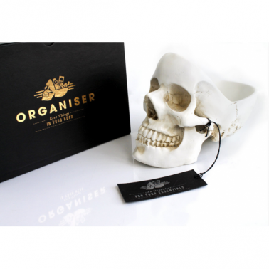 Gift Ideas, Skull Desk Tidy
