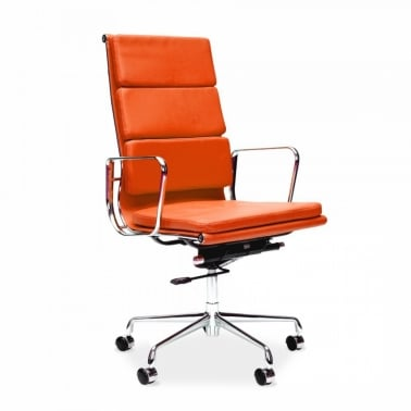 Soft Pad Executive Office Chair - Orange