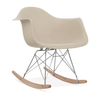 Beige RAR Rocker Chair