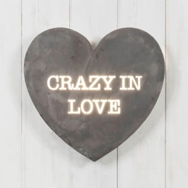 Heart Mini Light Box - Crazy In Love