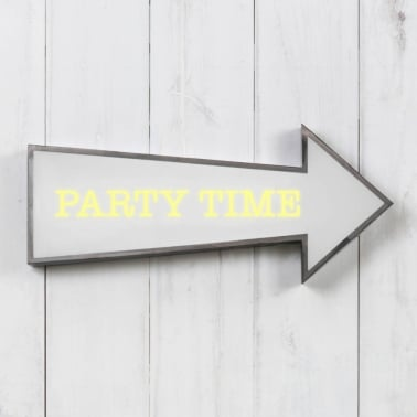 Classic Arrow Light Box - Party Time
