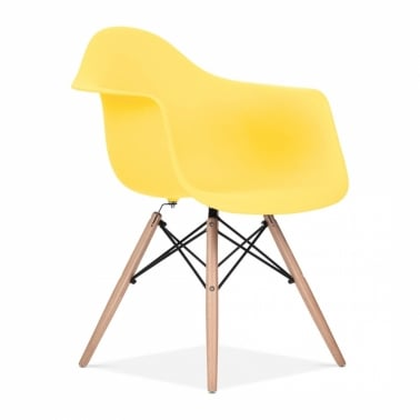 Yellow DAW Style Chair