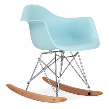 Kids RAR Rocker Chair - Pastel Blue