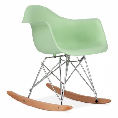 Kids Soft Green RAR Rocker Chair