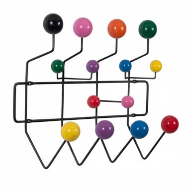 Hang It All - Black With Multi-Coloured Balls