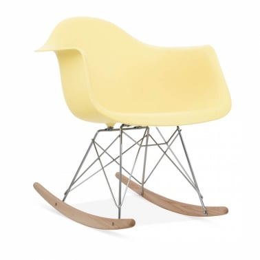 Lemon RAR Style Rocker Chair