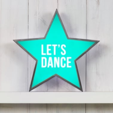 Classic Star Light Box - Let's Dance