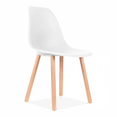 Copenhagen Dining Chair - White