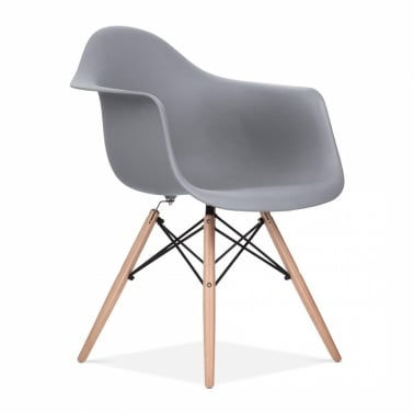 Cool Grey DAW Style Chair