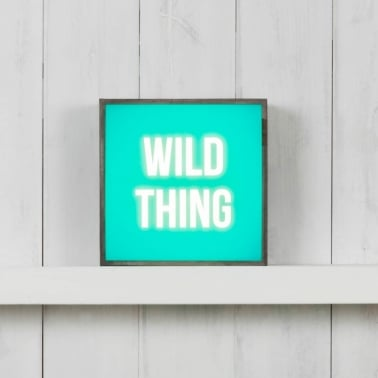 (Insert Only) For Square Light Box - Wild Thing