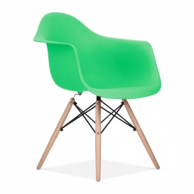 Bright Green DAW Chair