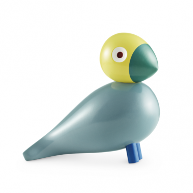 Sunshine Wooden Bird - Teal