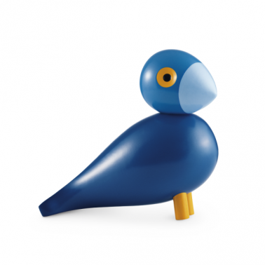 Kay Wooden Bird - Blue