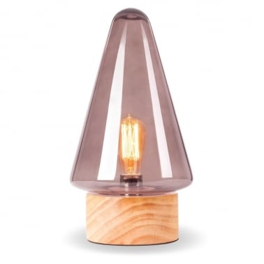 Forest Mushroom Cone Table Lamp - Choice of Colour