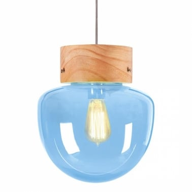 Forest Mushroom Globe Hanging Pendant Lamp - Choice of Colour