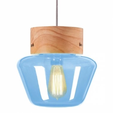 Forest Mushroom Trapezium Hanging Pendant Lamp - Choice of Colour