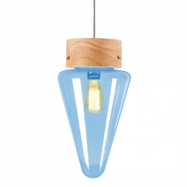 Forest Mushroom Cone Hanging Pendant Lamp - Choice of Colour