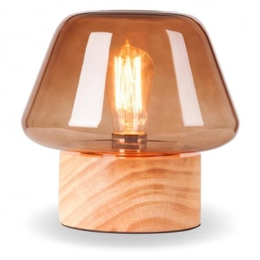 Forest Mushroom Trapezium Table Lamp - Choice of Colour
