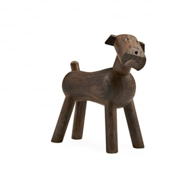 Wooden Tim the Dog - Walnut