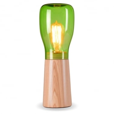 Forest Mushroom Vase Table Lamp - Choice of Colour