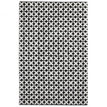 Geometric Rug - Black/White