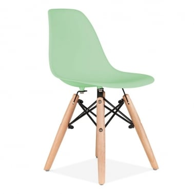 Kids Soft Green DSW Chair