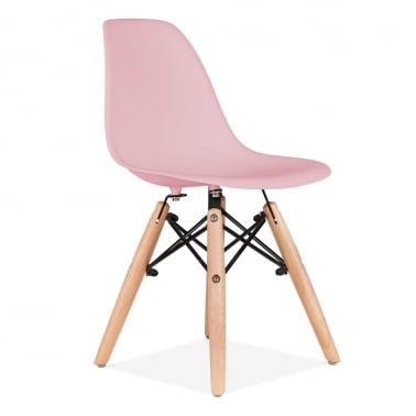 Kids Pastel Pink DSW Chair