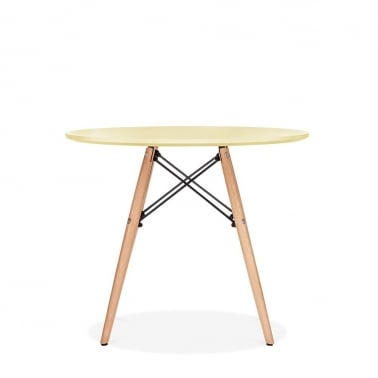 DSW Lemon Kids Round Dining Table - Diameter 60cm