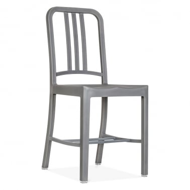 Plastic Dining Chair - Grey