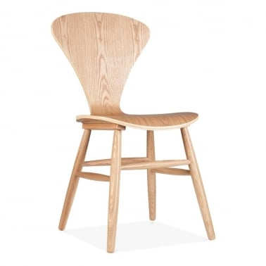 Oak Chair With Windsor Style Legs - Natural