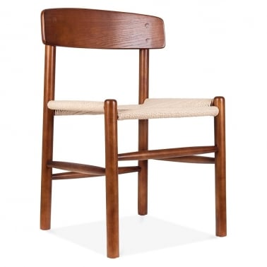 J39 Dining Chair - Brown